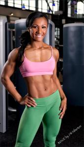 IFBB Pro Tanji Johnson; Founder of 'Save Fitness'