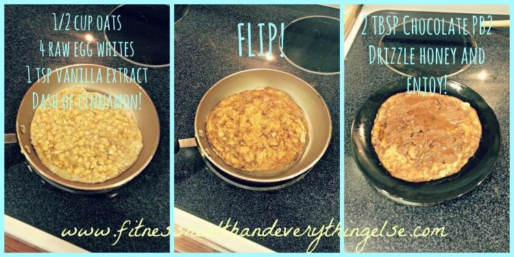 Oatmeal Protein Pancakes!