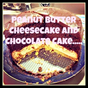 peanutbuttercheesecakeandchocolate