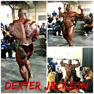 Dexter Jackson up close and personal guest performance at Vancouver Natural