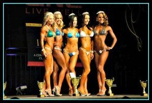 Top 5 Bikini Class A Gals. I will be meeting them all in 9 days!