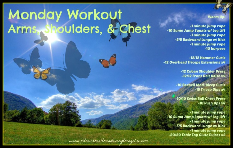 Monday, May 12th Workout