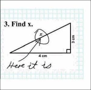 Failed math test 6